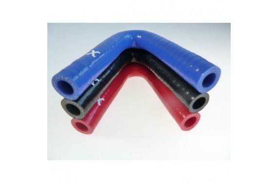 13mm - Coude 135deg silicone - REDOX