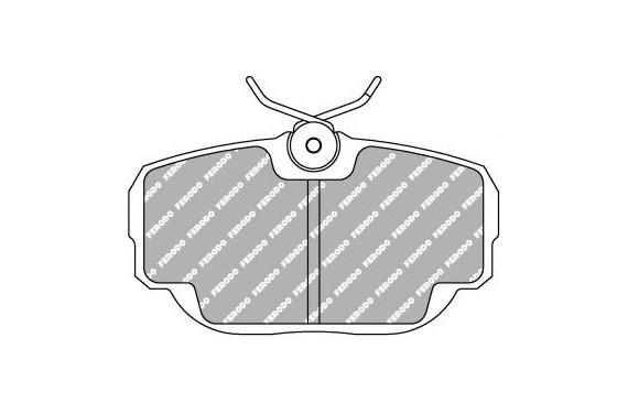 Plaquette de frein Ferodo DS300, BMW Serie 3 E30 325i