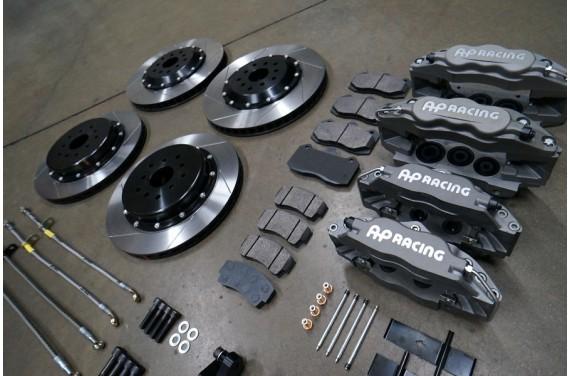 Système freinage complet sur mesure avec étriers av/ar, répartiteur, limiteur, frein à main hydraulique