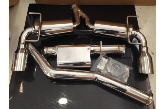 Ligne d'echappement inox Cosworth 76 mm, Stage 0.1 pour Subaru BRZ TOYOTA GT86