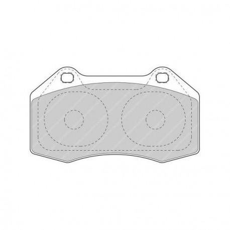 plaquette de frein avant ferodo ds uno pour megane 2 rs. Black Bedroom Furniture Sets. Home Design Ideas
