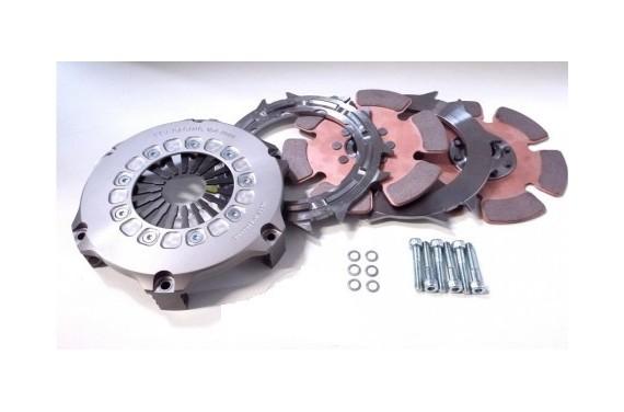 Kit embrayage Bi-disque 184mm