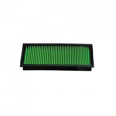 filtre a air green pour boite a air d 39 origine pour polo 1 9 tdi 100 130cv. Black Bedroom Furniture Sets. Home Design Ideas