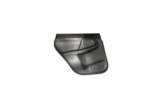Garniture de porte AR Subaru carbone