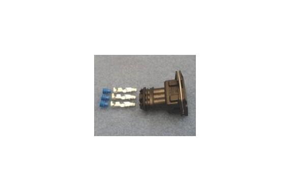Connecteur AMP femelle NOIR 4 contacts