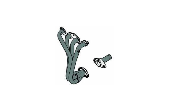 Collecteur Inox SEAT IBIZA 1 6L 8V (Mot ABU)