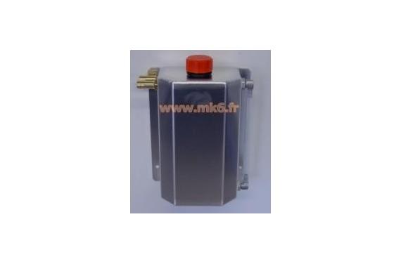 Recuperateur d' huile 2 Litres - position des entrees sorties interchangeables
