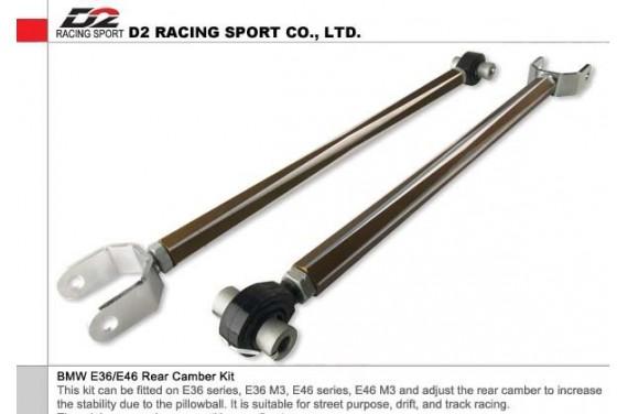Kit  D2 anti cabrage, BMW E36/ E46