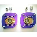 Coupelles d'amortisseur rotulé reglable (carrossage) pour 106 S16 / Saxo
