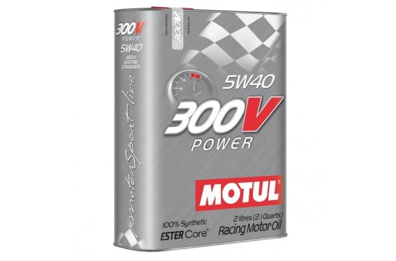 Huile moteur MOTUL 300V 5W40