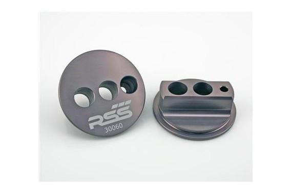 Kit RSS silent bloc dur et réglable bras pour PORSCHE Boxster/Cayman 987 et 997 système hydraulique