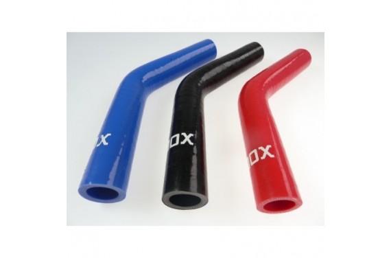Coude 45° silicone REDOX diamètre intérieur 19mm Longueur 100x100mm