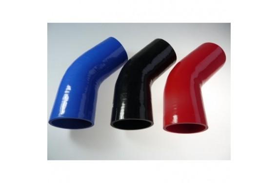 Coude 45° silicone REDOX diamètre intérieur 102mm Longueur 100x100mm