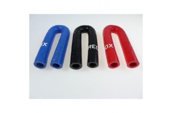 Coude 180° silicone REDOX diamètre intérieur 13mm Longueur 100x100mm