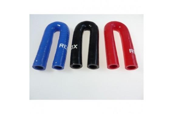 Coude 180° silicone REDOX diamètre intérieur 16mm Longueur 100x100mm