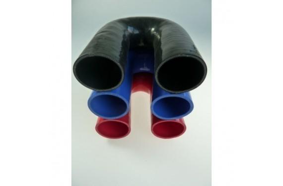Coude 180° silicone REDOX diamètre intérieur 54mm Longueur 100x100mm