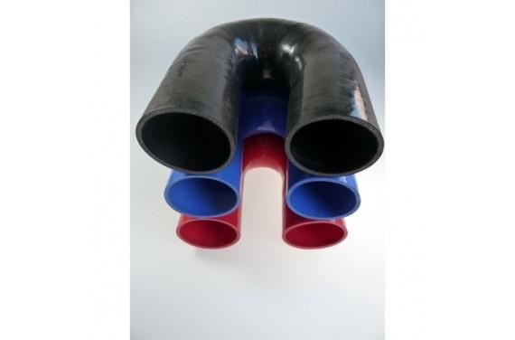 Coude 180° silicone REDOX diamètre intérieur 85mm Longueur 100x100mm