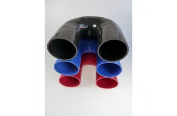 Coude 180° silicone REDOX diamètre intérieur 102mm Longueur 100x100mm