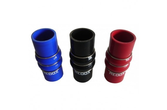Double hump silicone REDOX diamètre intérieur 63mm Longueur 150mm