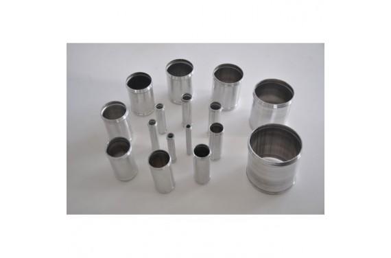 Manchon droit aluminium REDOX diamètre extérieur 38mm Longueur 100mm