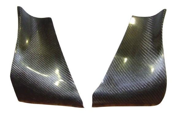 Protections ailes arrières AC SPORT carbone CITROEN SAXO KIT CAR (la paire)