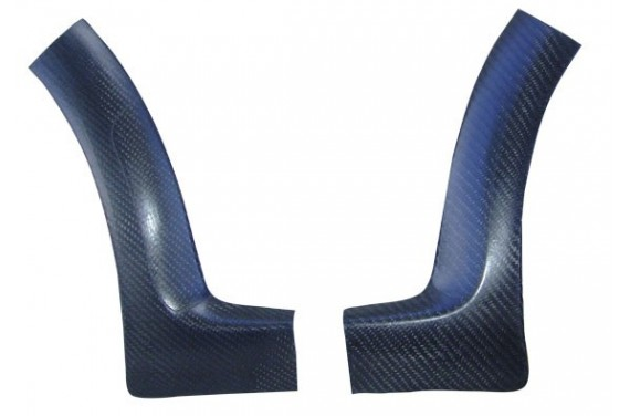 Protections carbone ailes arrières PEUGEOT 106 S16/RALLYE PHASE 2