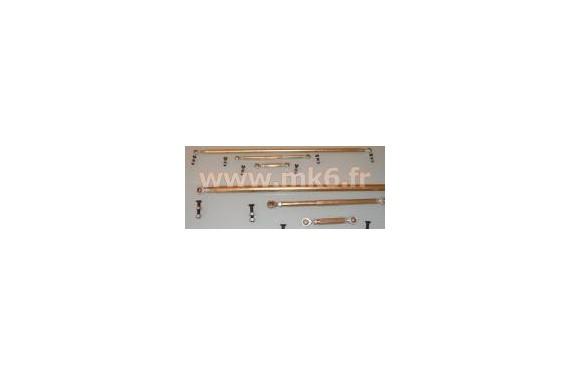 Tringlerie de boîte de vitesse rotulée CITROEN XSARA/ZX /PEUGEOT 205/306/309 Boîte BE1/ BE3