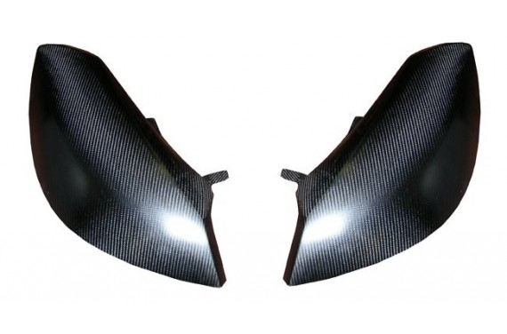 Cache phare carbone AC SPORT (la paire) RENAULT CLIO R3