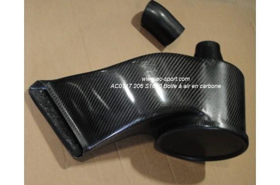 Boîte à air carbone AC SPORT PEUGEOT 206 S16 1.6