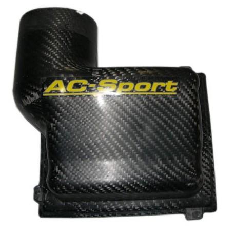 Courvercle carbone AC SPORT pour boîte à air origine PEUGEOT 206 F2000 avec admission 4 papillons