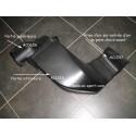 Couvercle de prise air polyester AC SPORT pour montage 4 papillons PEUGEOT 206 F2000 S16 1.6 2.0 16V