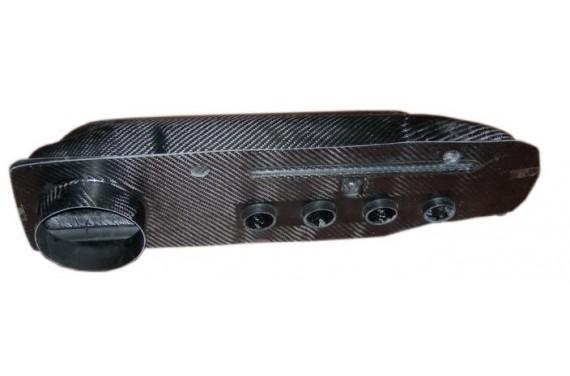 Boîte à air carbone AC SPORT pour RENAULT CLIO WIILLIAMS MAXI avec kit 4 papillons
