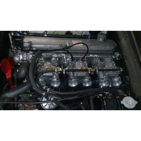 Tringlerie de commande de carburateur pour 6 cylindres, montage WEBER DCOE