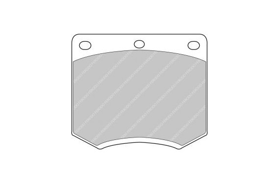 Plaquettes de frein Carbone lorraine RC6 pour Sunbeam Lotus 2.2