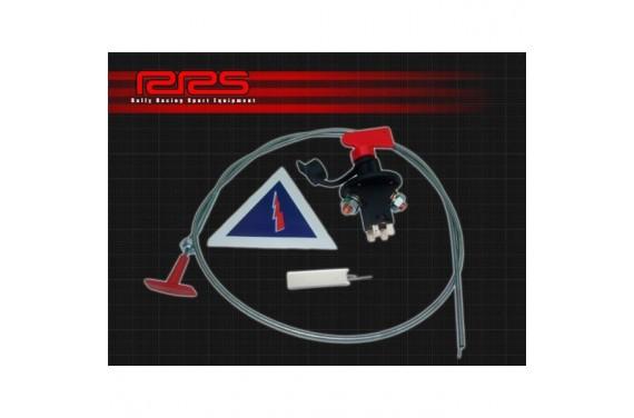 Coupe circuit 6 pôles + tirette+ résistance+ autocollant signalétique