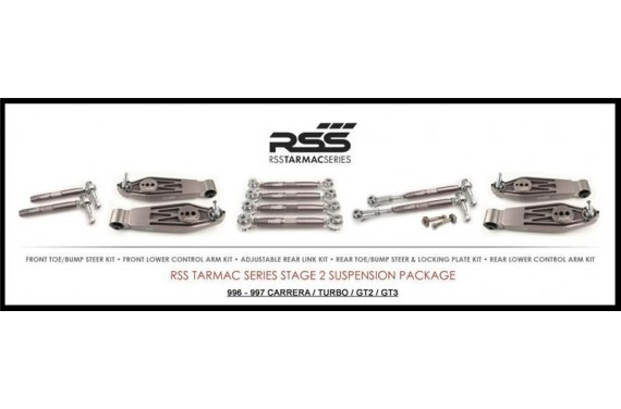 Kit train avant rotulé Stage 2 RSS pour Porsche 996/ 997 carréra/ S / 2S/ 4S/ GT3
