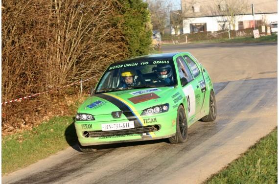 Pare choc avant fibre Peugeot 306 S16 ph 2