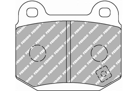 Plaquette FERODO DS300 arrière pour subaru impreza STi 2.0 EJ20 (etrier brembo)