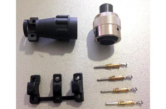Connectique pour potentiometre pour boite sadev (coter boite)