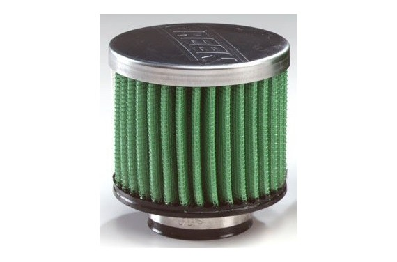 Filtre à air GREEN cylindrique (E15, L50, D50,)