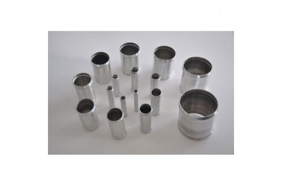 Manchon droit aluminium REDOX diamètre extérieur 13mm Longueur 100mm