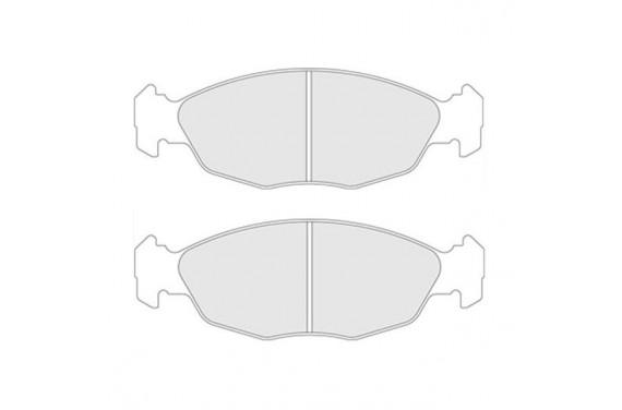 Plaquettes de frein arrière Carbone lorraine RC6 106S16 Saxo VTS