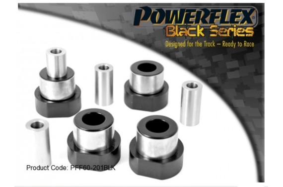 Silent-Bloc Powerflex Black Triangle Avant Renault Clio 16S / Williams / R19 16S (4 Pièces)