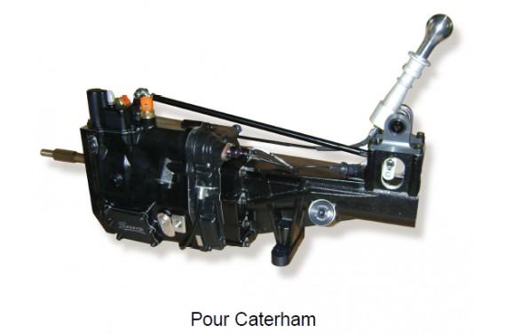 Boite de vitesse sequentiel Sadev pour Caterham moteur 2.0/2.3 Duratec