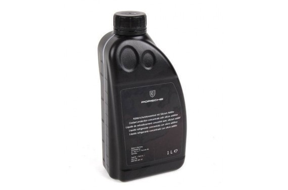 Bidon 1L liquide de refroidissement moteur PORSCHE concentré avec additif silicium
