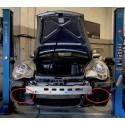 Forfait remplacement 2 radiateurs latéraux avants gauche et droit PORSCHE 996 TURBO 420CV 1998-2005