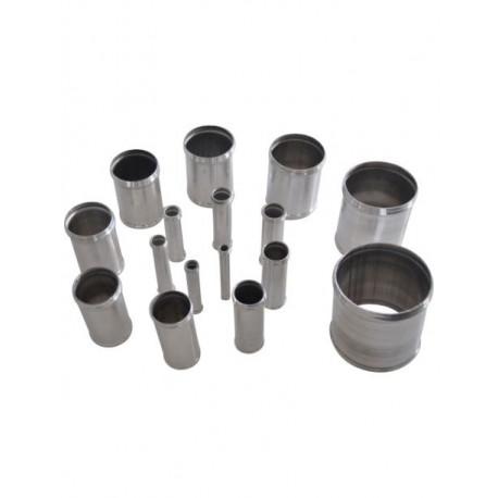 Manchon droit aluminium REDOX diametre exterieur 42mm Longueur 100mm