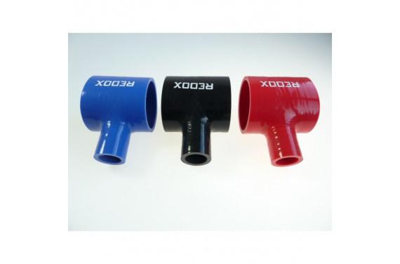 Manchon droit silicone REDOX diametre interieur 57mm et derivation 25mm Longueur 76mm