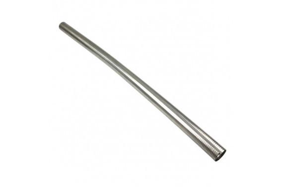 Flexible d'echappement inox diametre 63mm - longueur 1M