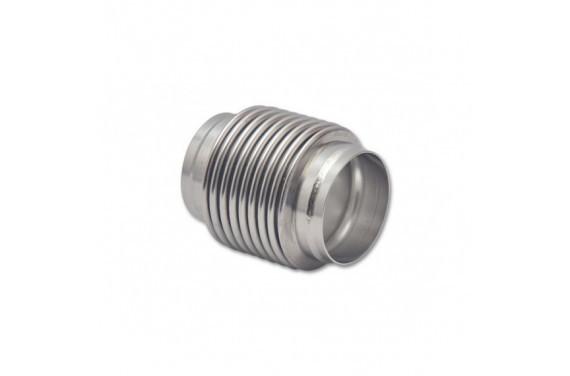 Flexible d'echappement compensateur inox pour tube diametre 70mm - longueur 102mm